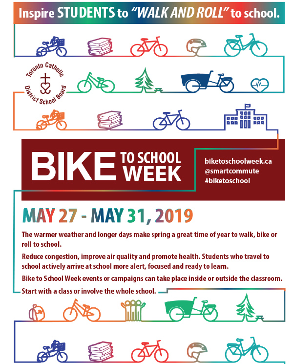 Bike to School week flyer