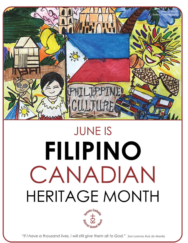 TCDSB Filipino Canadian Poster 2020