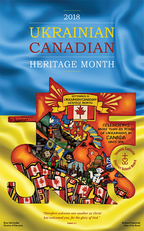 Ukrainian Canadian Heritage flyer