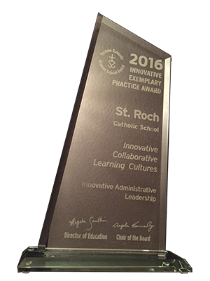 2016 Award sculpture