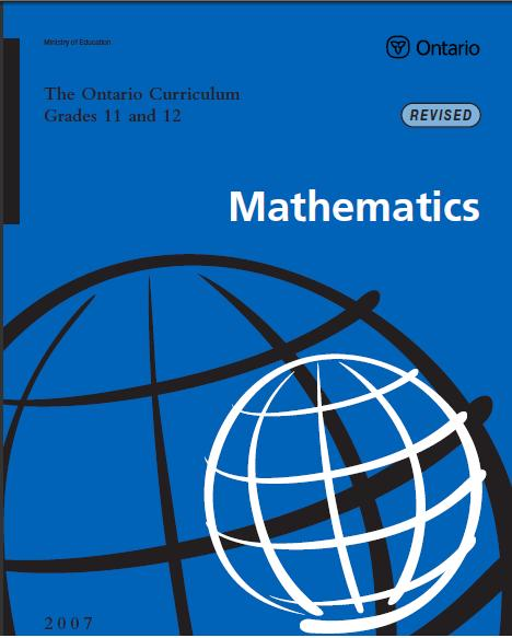 Ministry math college subjects