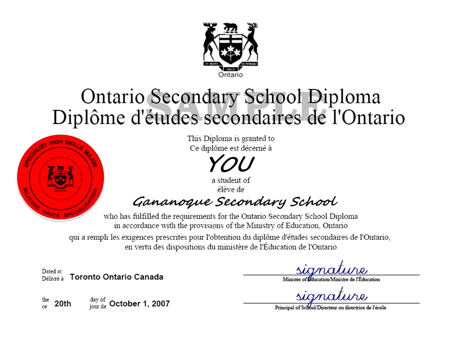 What are some high schools in Toronto?