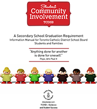 Student Community Involvement Booklet