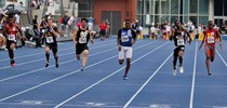 Young Canadian Track and Field Champion