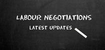 Labour Negotiations Update