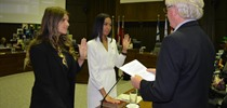 2015/2016 Student Trustees Take Oath of Office