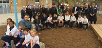 Unveiling of the St. Leo Learning Garden
