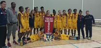 TDCAA - AAA Senior Girls 2015 Champions