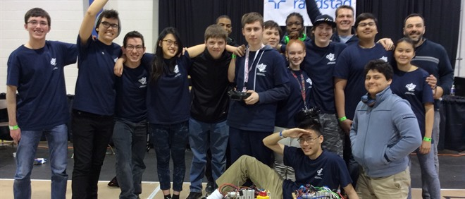 MPSJ Wins Robotics Gold