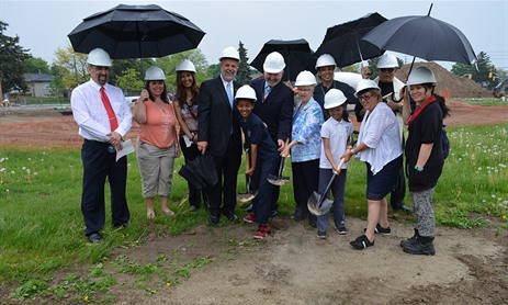 Breaking New Ground at St. Victor