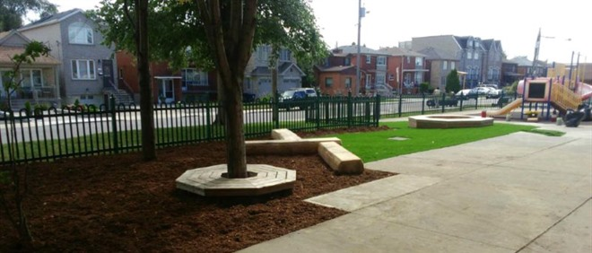 New Play Area at St Matthew