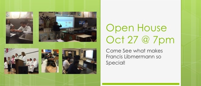 Open House - Oct 27, 2016