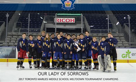 Our Lady of Sorrows Wins Toronto Marlies Tournament
