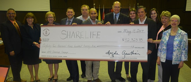 Celebrating 2017 ShareLife Campaign Success