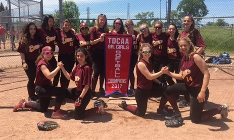 MPSJ-Girls Tier 1 Softball Champions
