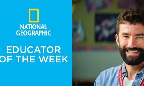 St. Cecilia Teacher named National Geographic Educator of the Week