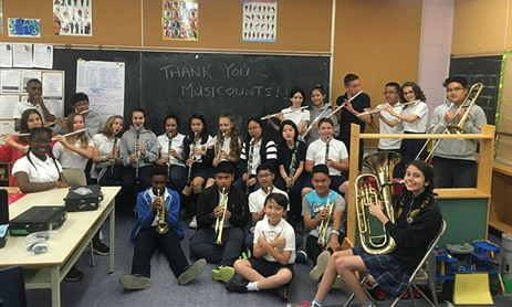 St. Matthias Receives $10K Grant from MusiCounts
