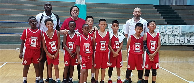 St. Dorothy Students Represent Canada in International Basketball Tournament