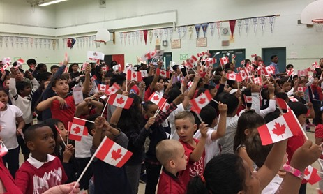 Holy Family Celebrates Canada Day