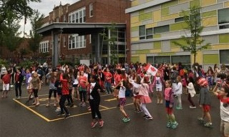 St Pius Celebrates Canada Day