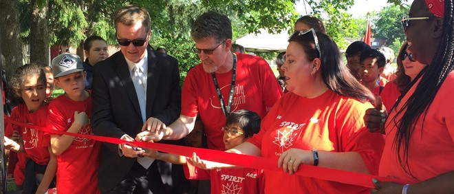 Holy Spirit Celebrates the Ribbon Cutting of an Outdoor Classroom