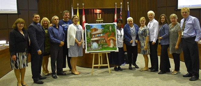 TCDSB presents Sisters of the Good Shepherd with commemorative painting
