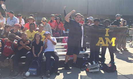 TCDSB Students Cheer on athletes at Invictus Games