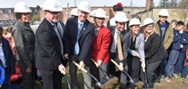 St. Clement Addition Ground Breaking Ceremony