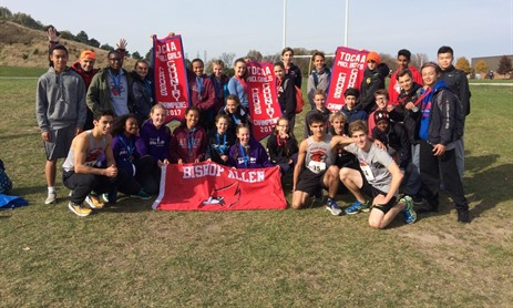 Bishop Allen Girls Cross-Country Champions