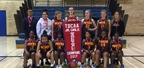 MPSJ TDCAA Girls Basketball Champions