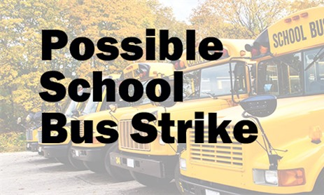 Possible School Bus Strike