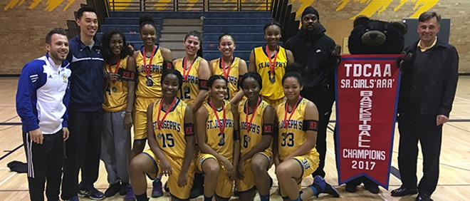 TDCAA AAA Girls Basketball Champions
