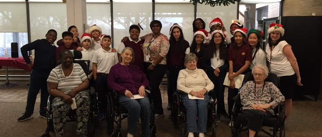 Students Sing for Humber Valley Residents