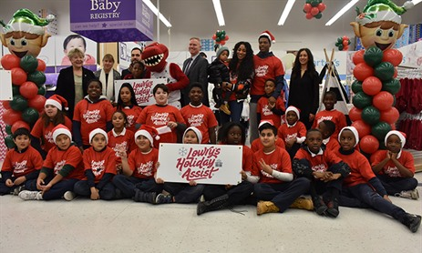 St. Stephen Students Receive Lowry's Holiday Assist
