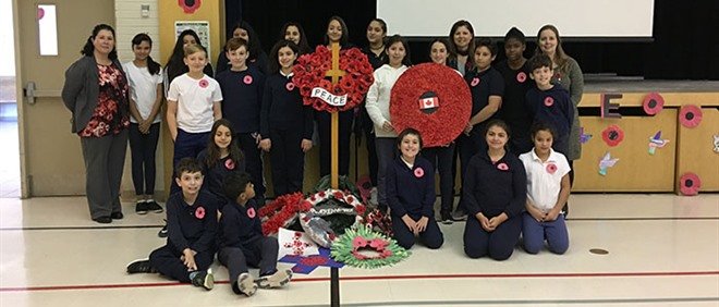 Remembrance Day at SFA