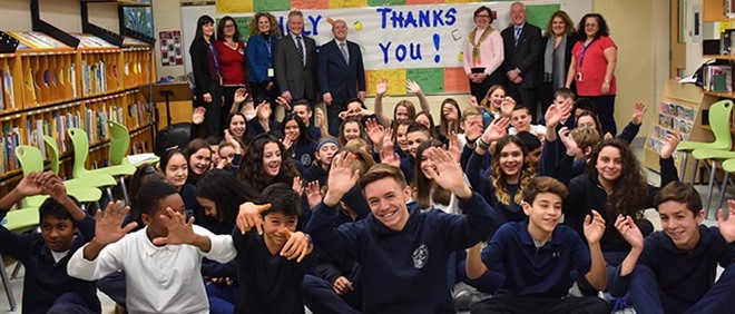 Holy Angels Receives New School