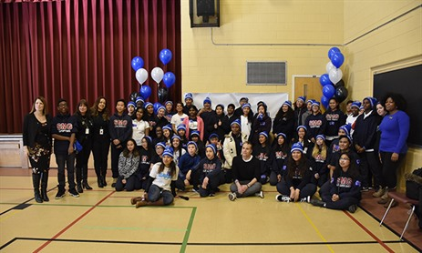 TCDSB Celebrates Bell Let's Talk Day