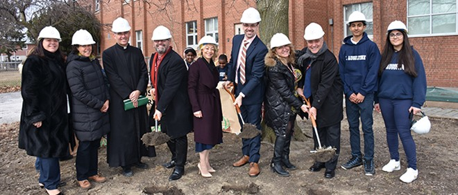 Breaking Ground at St. Augustine Catholic School