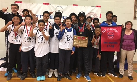 Elementary City Basketball Championships