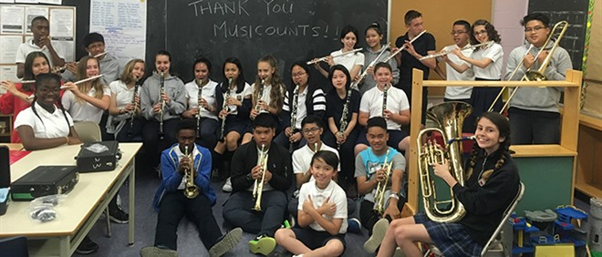 TCDSB Schools Receive $50,000 Grants from MusiCounts