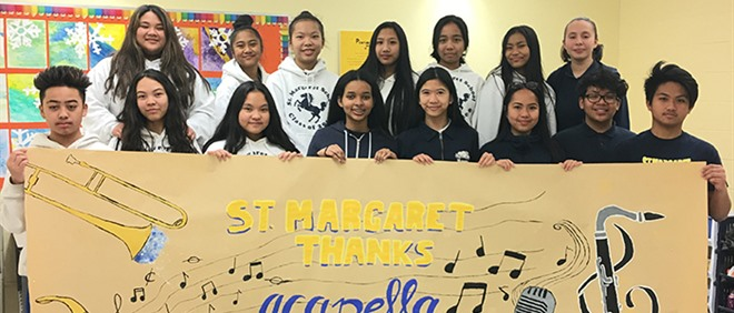 Thank You MusiCounts and Acapella Foundation