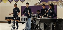 FHC Performs in the First Canadian Drumline Association...
