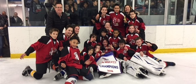 "Canadian Martyrs ""B"" Pool City Champions 2018"