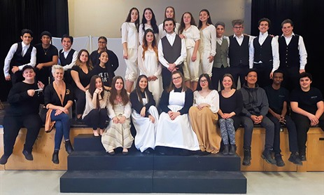 TCDSB Represented by Dante and Loretto at Provincial Drama Fest