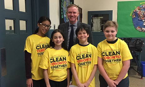 Clean Toronto Together School Cleanup Day
