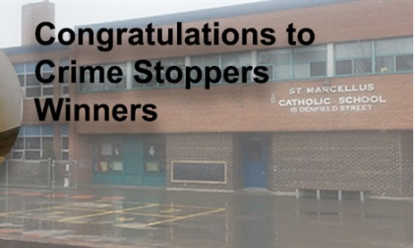 Congratulations to Crimestoppers Winners