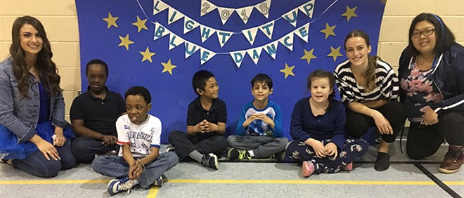 St. Bruno/St. Raymond Celebrates Light It Up Dance-A-Thon