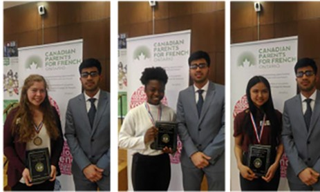 TCDSB Students Win Awards at 34rd Annual French Public-Speaking Competition
