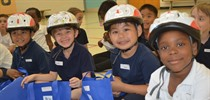 St. Bernard Students Receive Bike Helmets