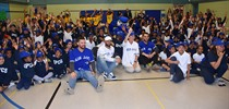Toronto Blue Jays Visit St. Paul